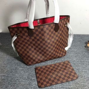 LOUIS VUITTON NEVERFULL BAG RED INTERIOR